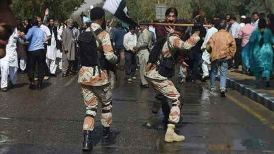 Pakistan urged to stop brutal repression of demonstrations