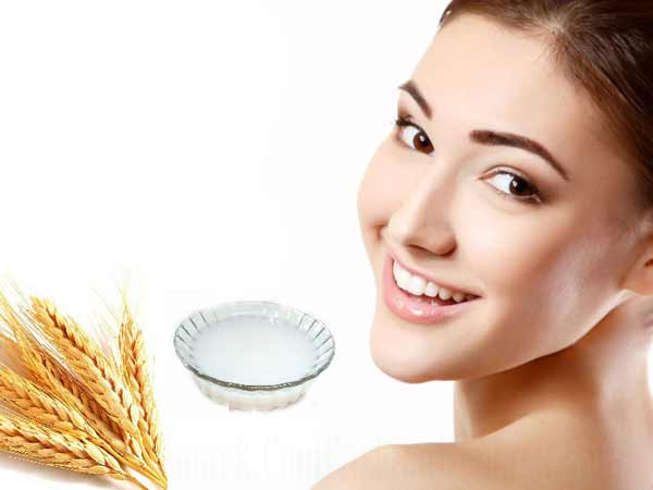 Rice water for skin whitening!