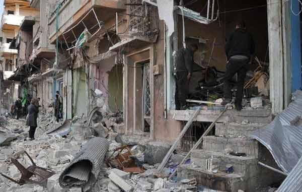 Syrian bomb explosions kill 140