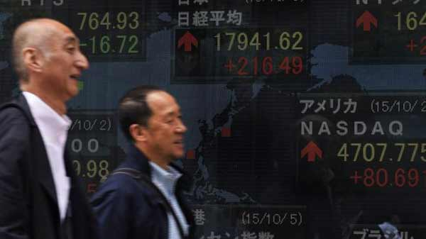 Japanese stocks lead gains in Asia