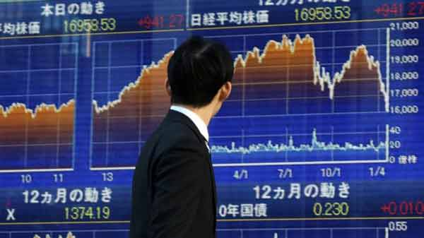 Tokyo shares follow Europe and US falls
