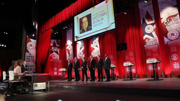 Rivals trade blows in Republican debate