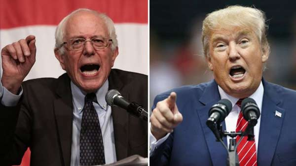 US election 2016: Trump and Sanders win New Hampshire