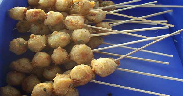 Homemade fishball with delicious taste