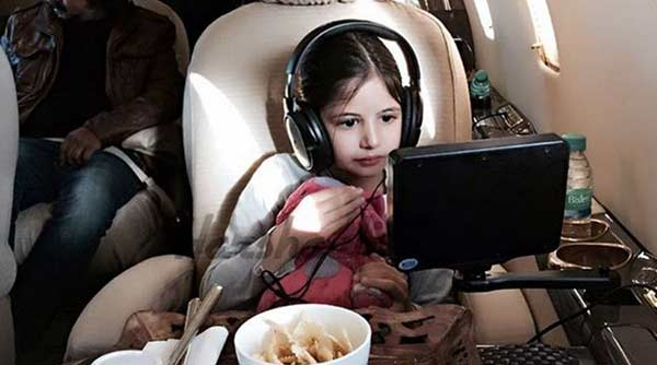Harshaali watches Bajrangi Bhaijaan Salman's movie 'Kick'