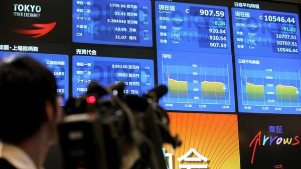 Japanese stocks lead Asian markets lower