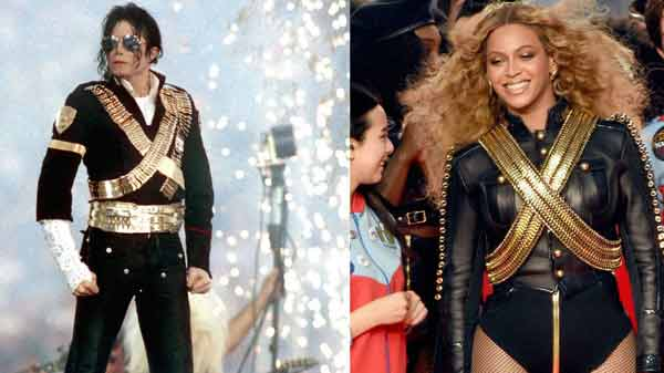 Beyonce's Super Bowl halftime outfit pays tribute to Michael Jackson
