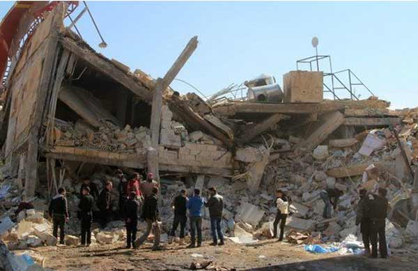 Syria hospital attacks 'war crimes'