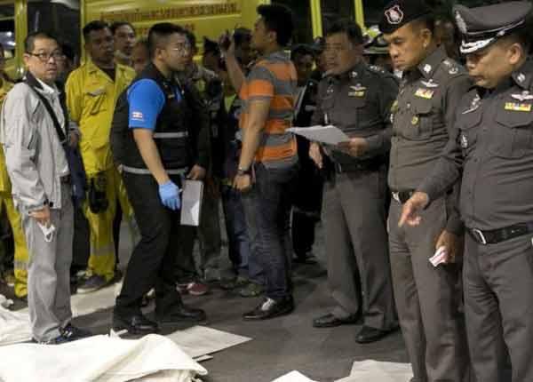 Thai bank chemical accident kills 8