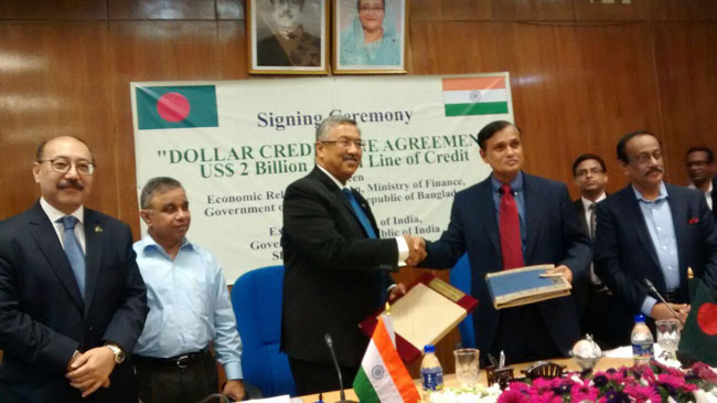 Bangladesh signs deal to receive $2.0b Indian LoC