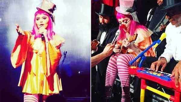 Madonna sheds tears at Melbourne show