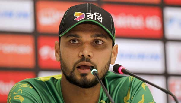 Bangladesh captain Mashrafe hints at retirement after mega event