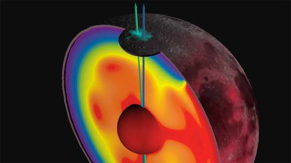 Moon used to spin 'on different axis'