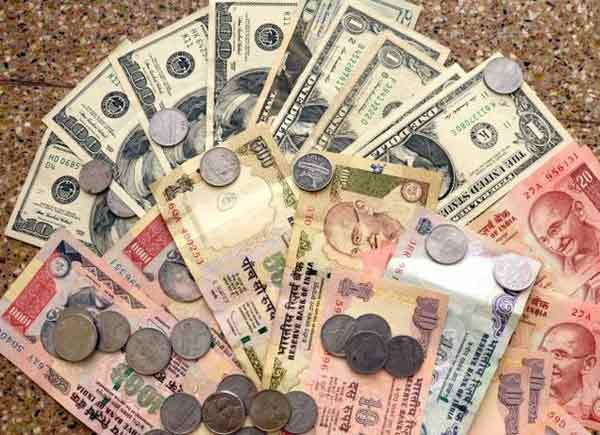 Rupee trading weak at 67.83