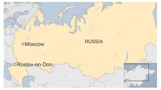 Plane crash kills 61 in Russia