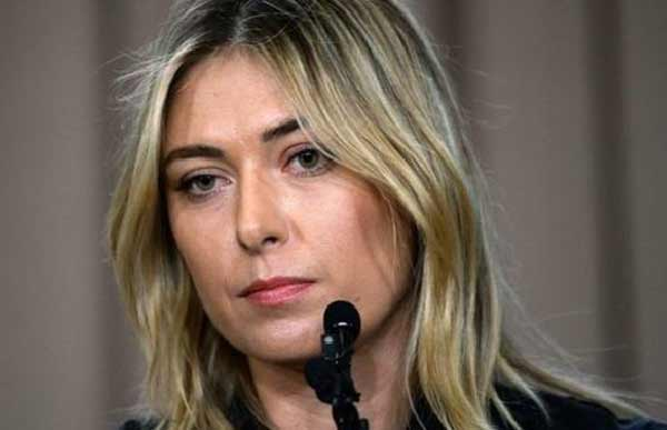 Sharapova 'determined to fight back' after failed drugs test
