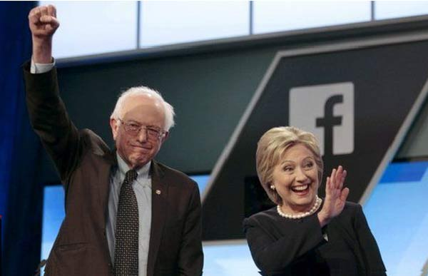 US election 2016: Clinton and Sanders spar in Florida