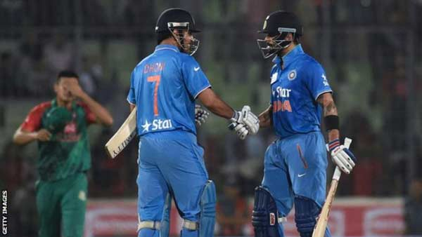 Asia Cup: India beat Bangladesh to win trophy for sixth time