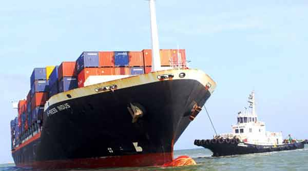 First ever direct vessel from India to Bangladesh leaves Krishnapatnam port