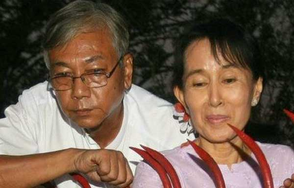 Suu Kyi closet nominated as Myanmar president