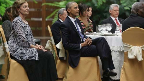 Obama and Castro spar over human rights