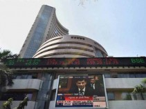 Sensex ends down by 52 points