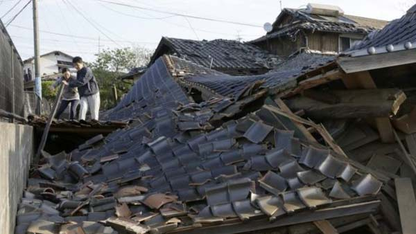 2nd big quake hits southern Japan, death toll 26