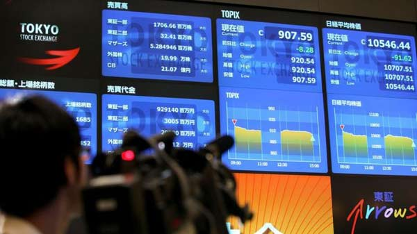 Japanese markets rebound as yen falters