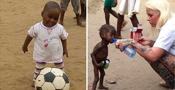 Angel who saved Nigerian 'witch boy' reveals joy at his astonishing recovery