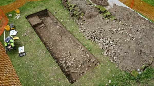Roman villa discovered 'by chance'
