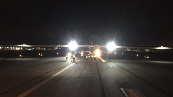 Solar Impulse completes Pacific flight
