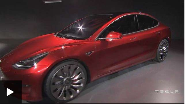 Tesla launches 'affordable' Model 3