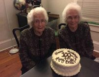 Identical twins remain inseparable and going strong at age 100!