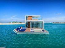 World's first luxury floating villa undergoes test in Dubai