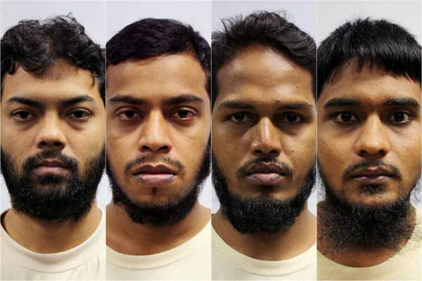 4 Bangladeshis detained under ISA found guilty of financing terrorism in Singapore