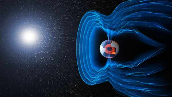 Swarm tracks Earth's turbulent magnetic field