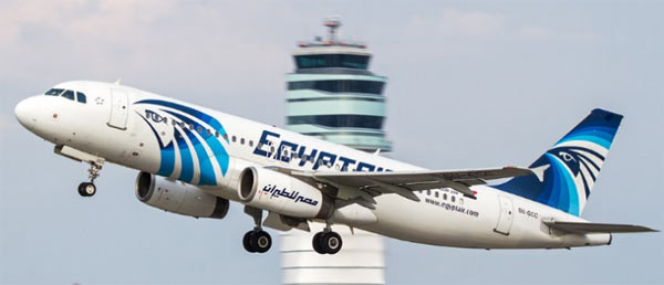 EgyptAir flight MS804 missing over the Mediterranean