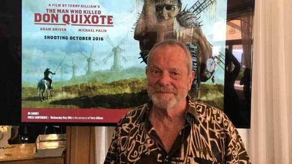 Gilliam resurrects Quixote 'nightmare'