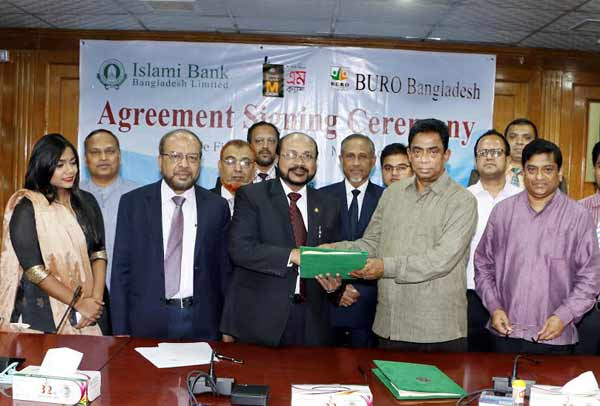 Islami Bank's agreement with BURO Bangladesh