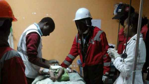 Nairobi building collapse: Baby girl rescued after 4 days