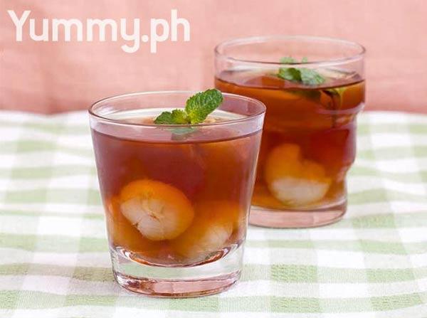Lychee teamonade, summers drinks
