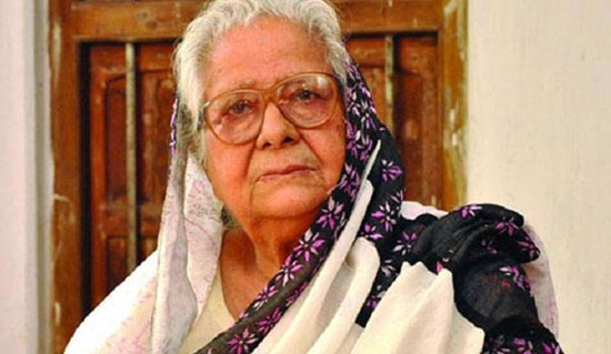 Begum Editor Nurjahan Begum passes away