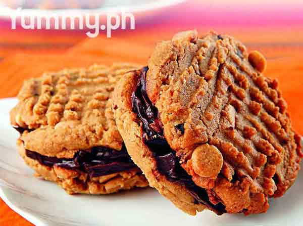 Kids special peanut butter sandwich cookie