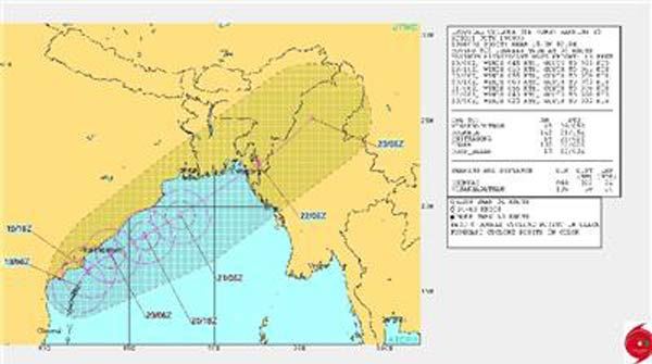 2 killed as cyclone Roanu puts Bangladesh's coast