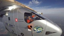 Solar Impulse lands in Pennsylvania