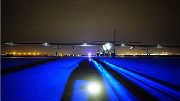 Solar Impulse aeroplane reaches Ohio