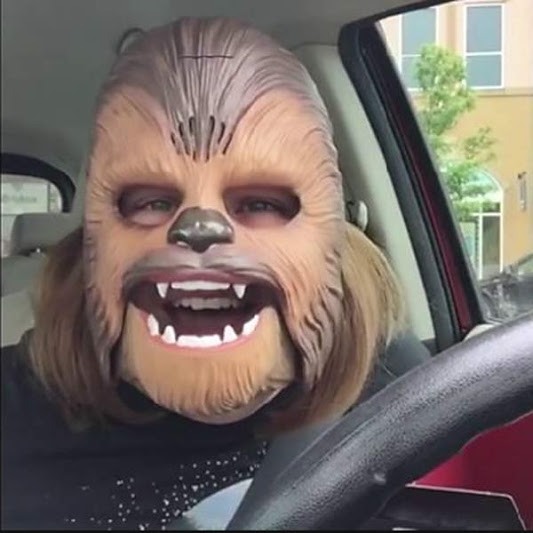 Texas mom breaks facebook record with chewbacca mask video