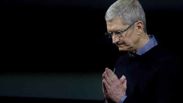 Apple worries 'an overreaction': Cook