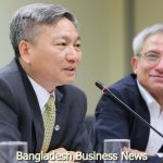 World Bank's launches the report 'Bangladesh Development Update' at the institution's office in the capital on Saturday