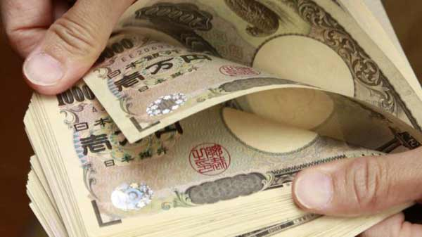 Japanese markets fall on yen strength